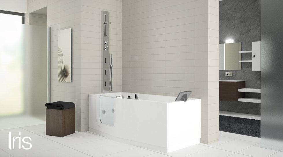 Vasche idromassaggio arredo bagno valentino - Vasche da bagno roma ...
