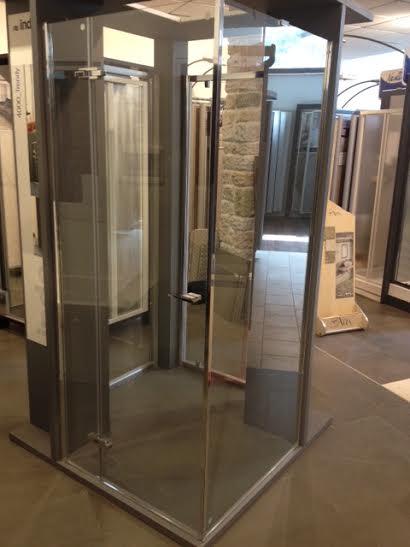 INDA Box doccia expo fine serie angolo 450,00 iva compresa ...