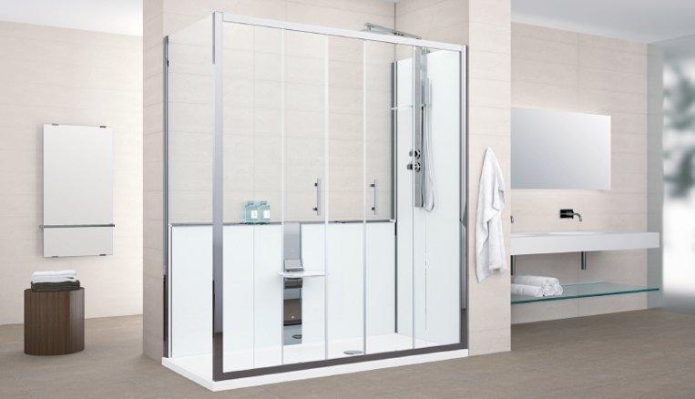 Sostituzione vasca con doccia arredo bagno valentino - Sostituzione vasca bagno con doccia ...